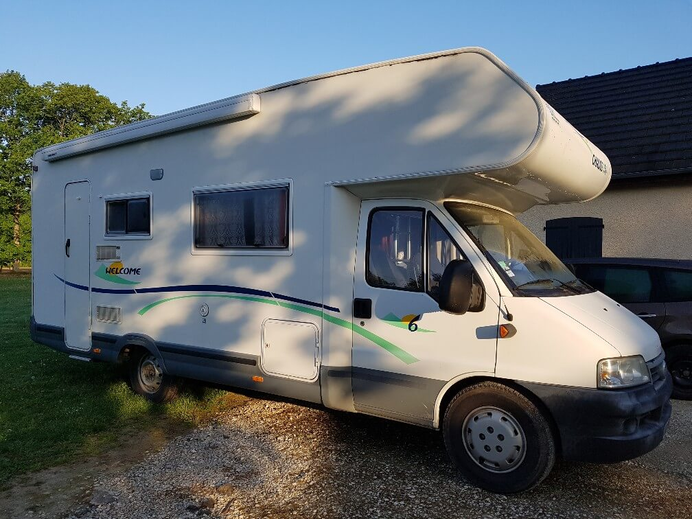 camping-car CHAUSSON WELCOME 6