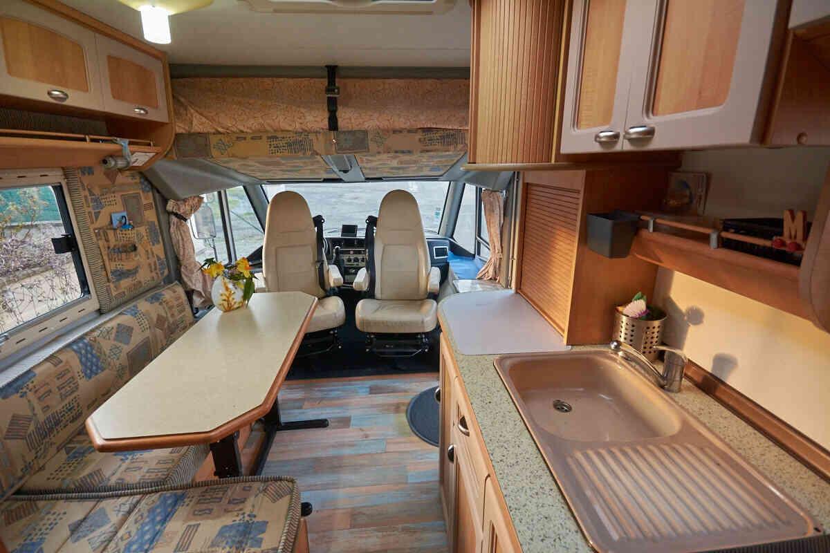 camping-car HYMER ELEGANCE I 532