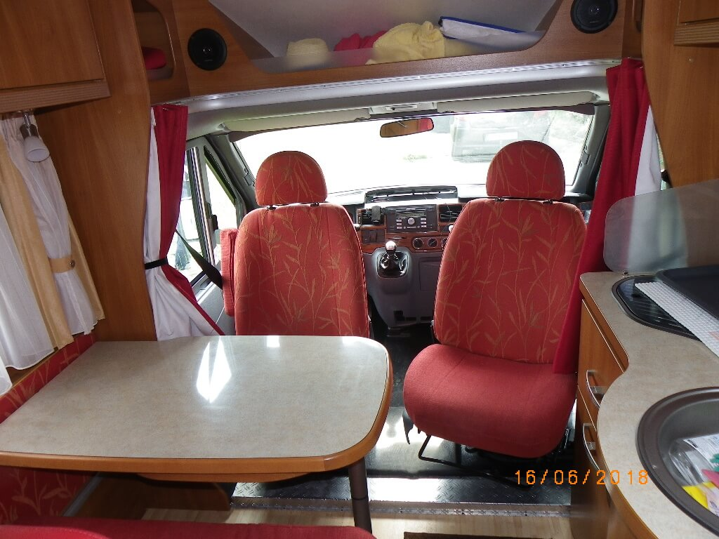 camping-car HYMER EMOTION 553