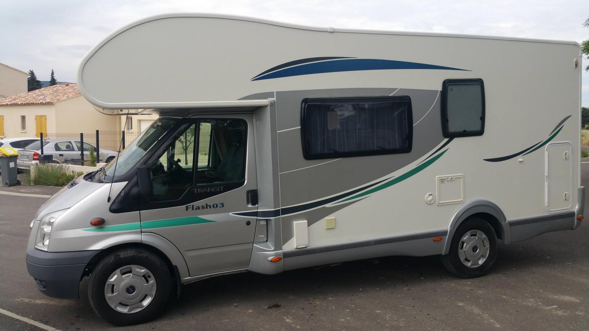 camping-car CHAUSSON FLASH 03 GF