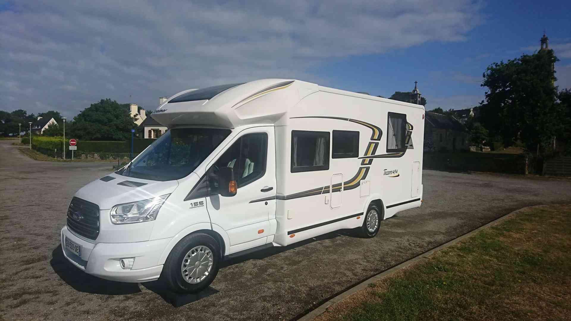 camping-car BENIMAR TESSORO 494