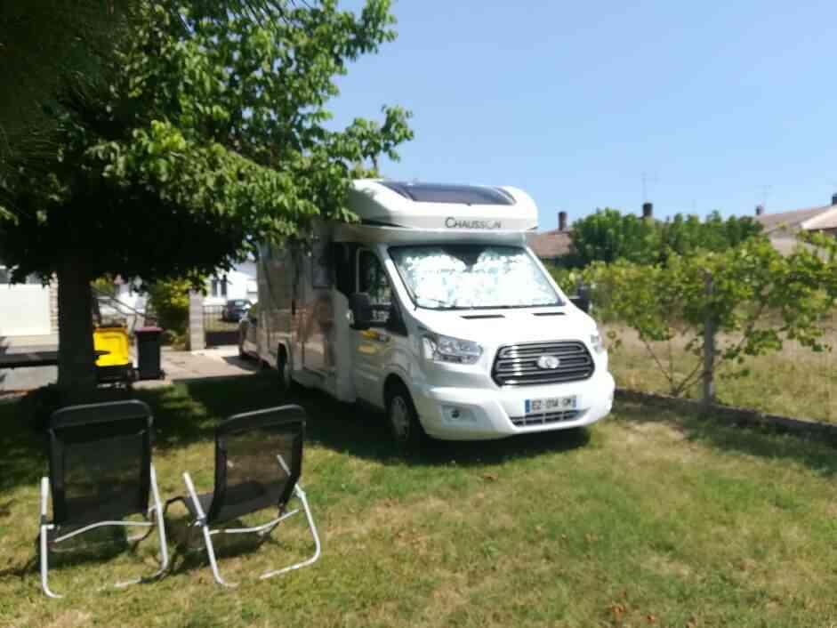 camping-car CHAUSSON TITANIUM