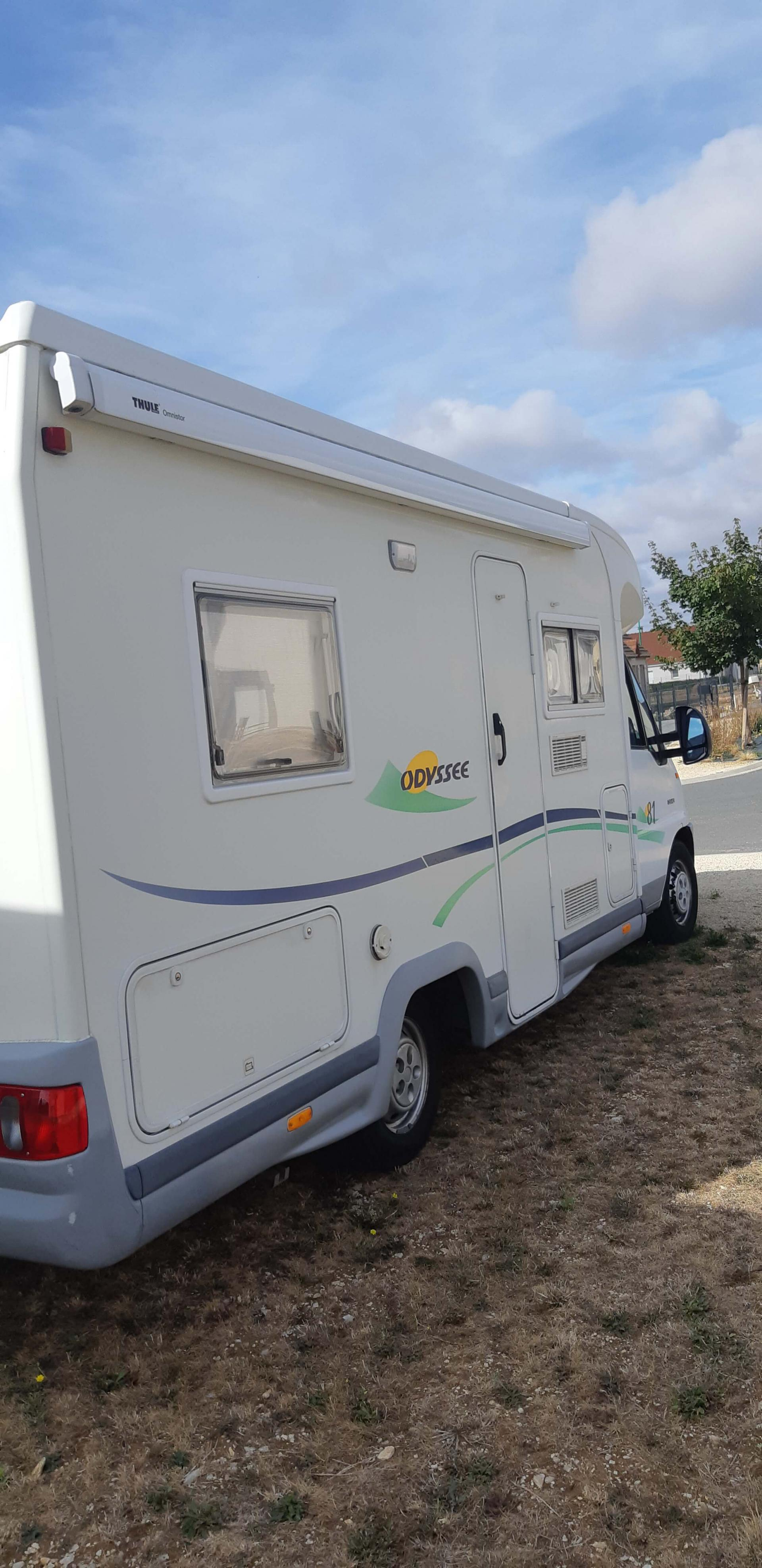 camping-car CHAUSSON ODYSSEE 81