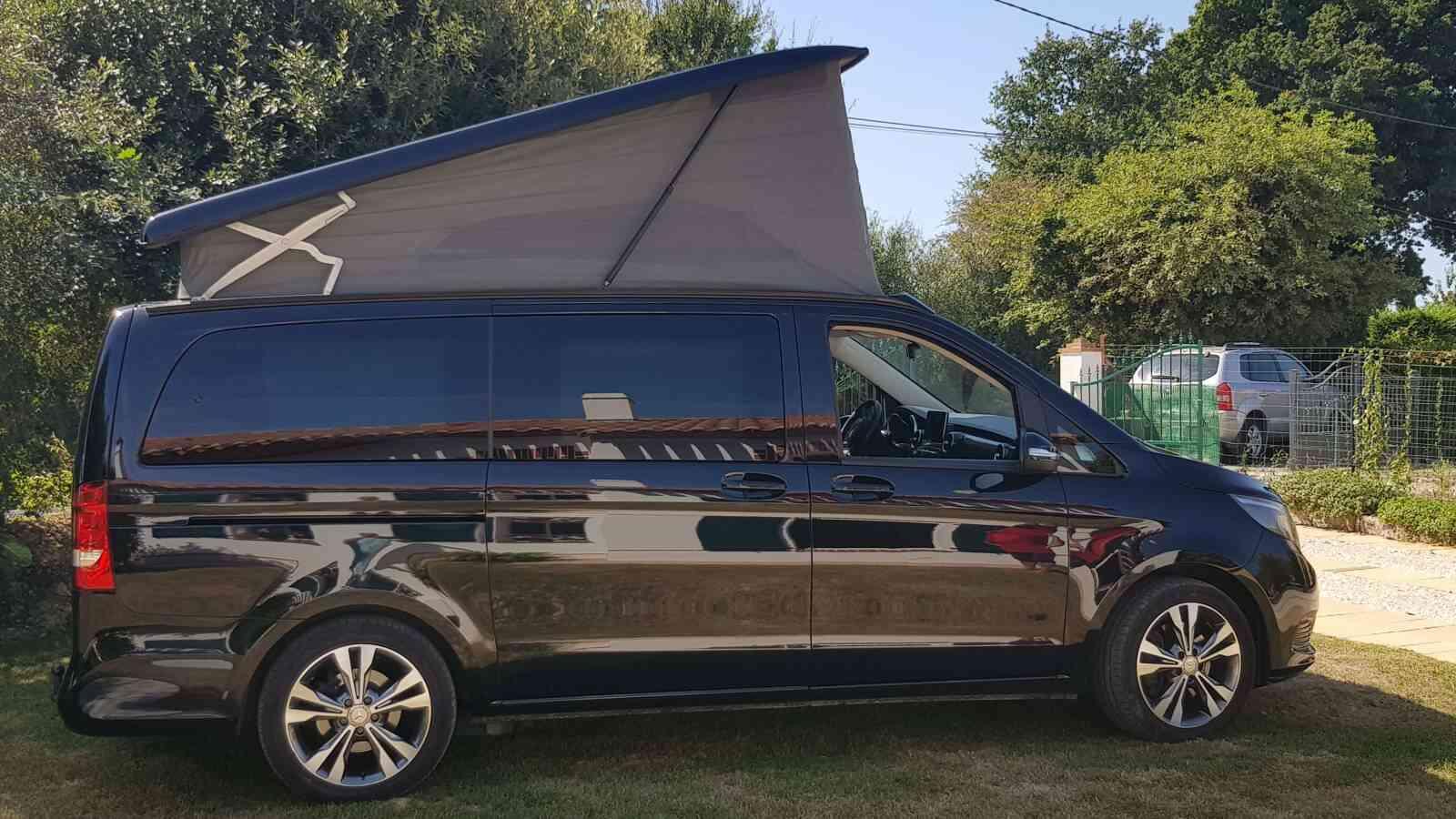 camping-car Mercedes Classe V Marco Polo V250 boîte auto 7G-Tronic plus