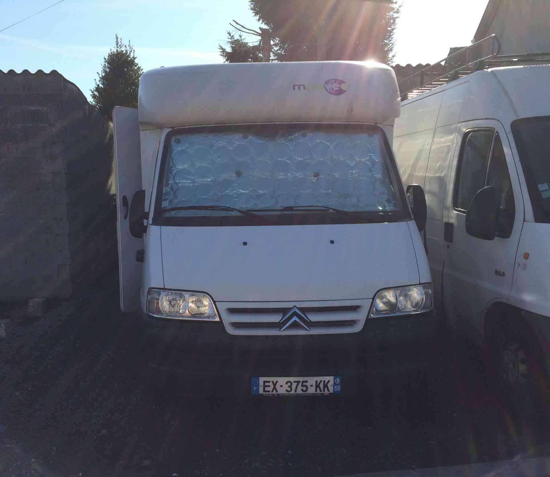 camping-car MOOVEO P 609