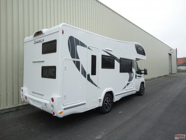 camping-car CHAUSSON C 656 FLASH