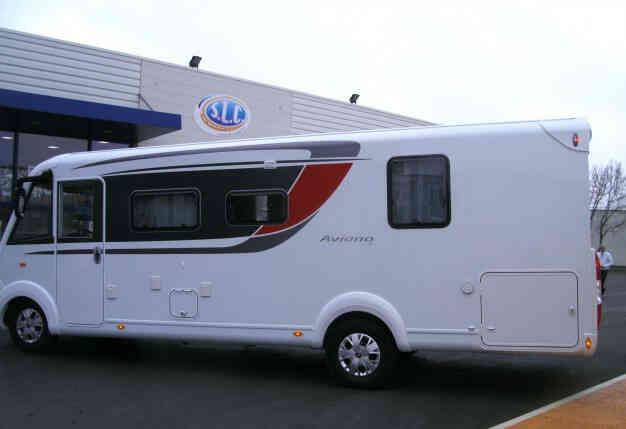 camping-car BURSTNER I 727