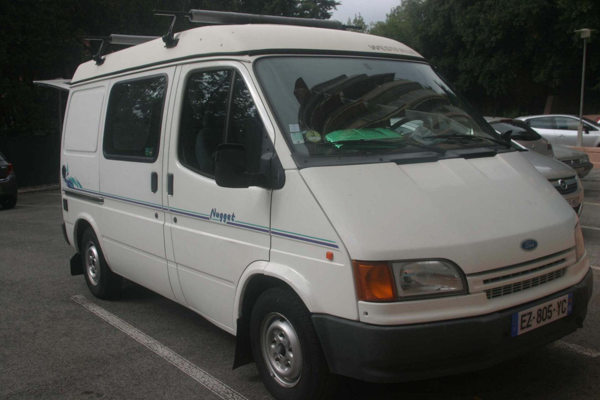 camping-car WESTFALIA NUGGET