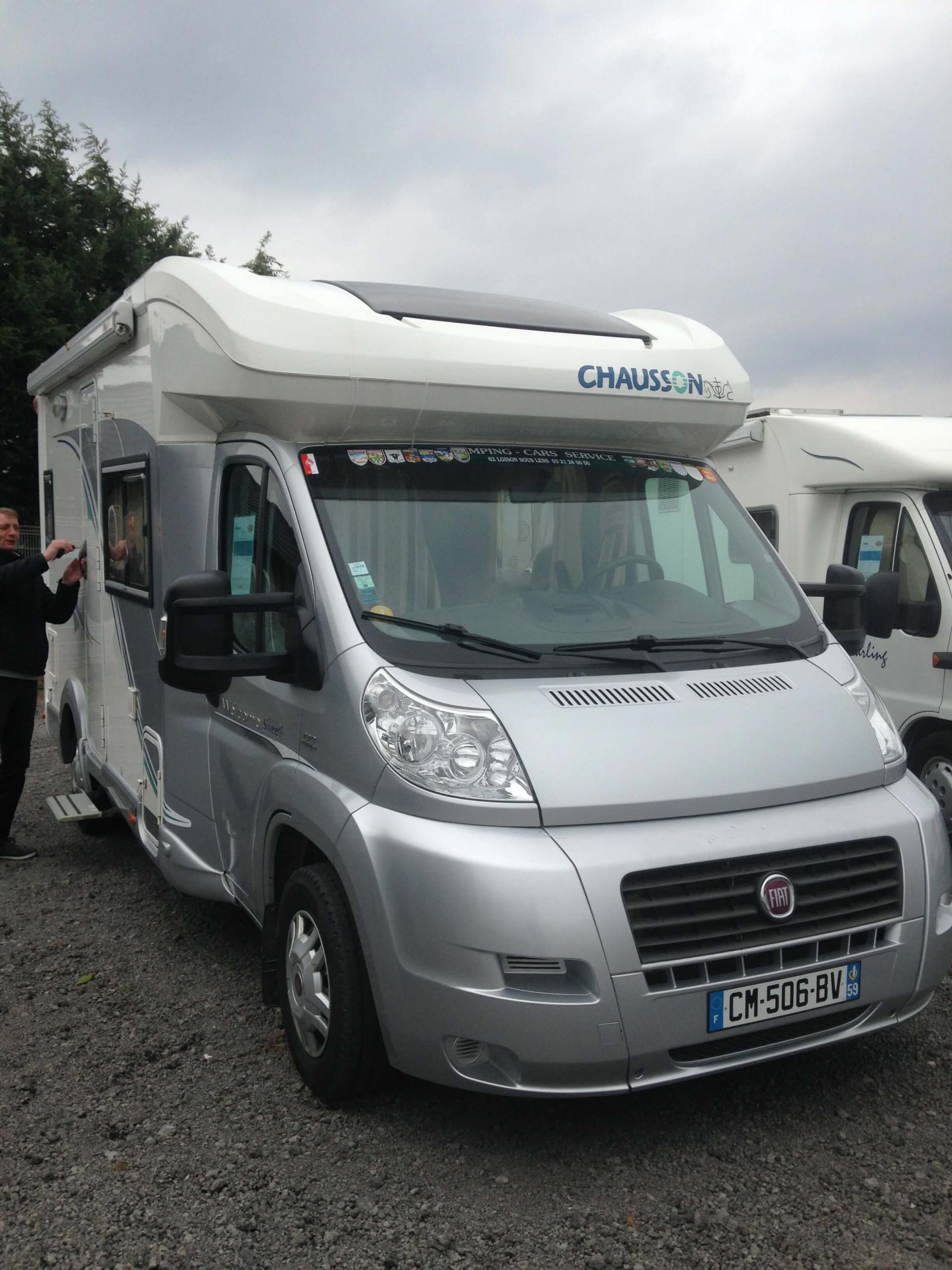 camping-car CHAUSSON WELCOME SWEET 213 MJET