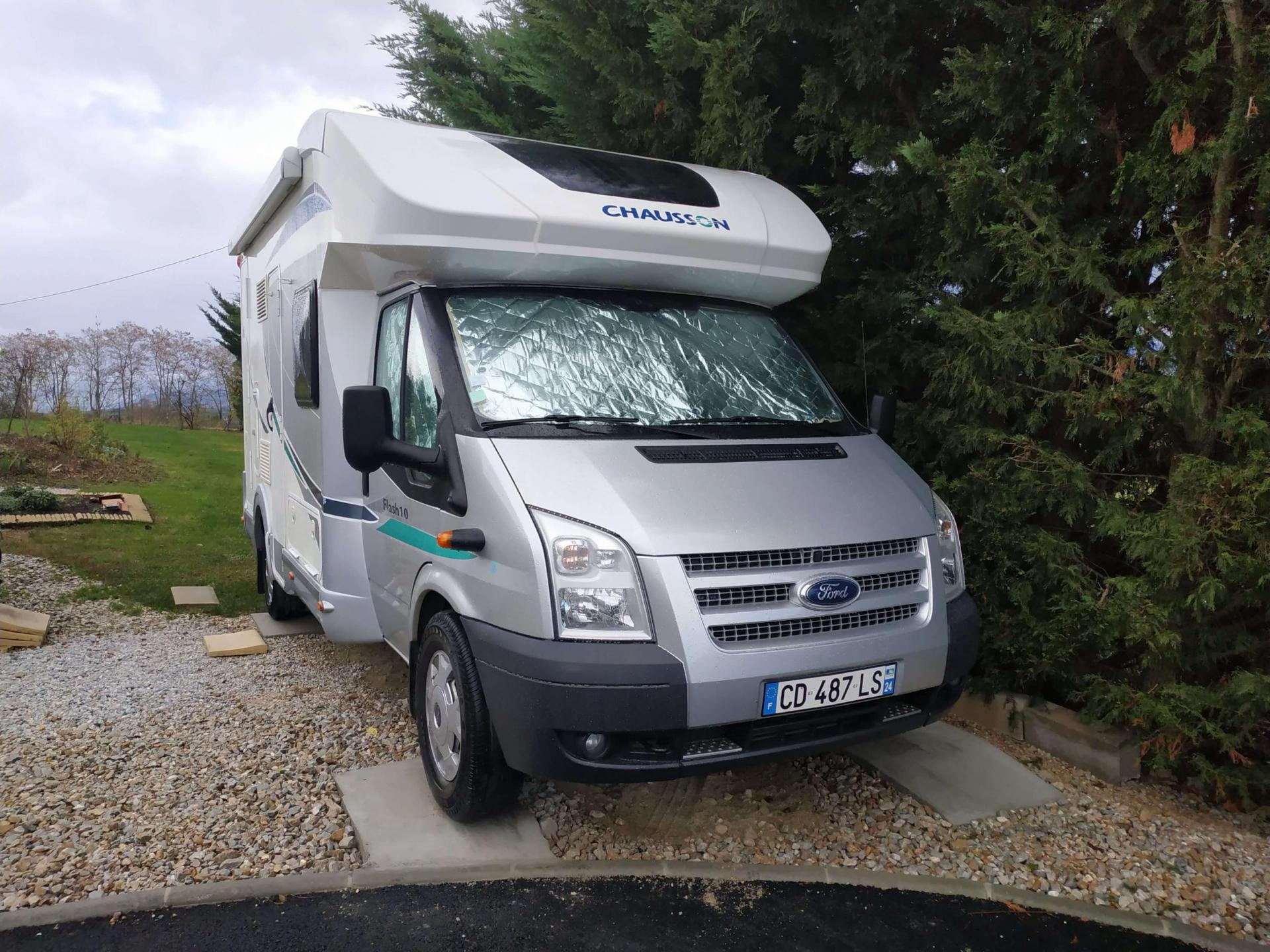 camping-car CHAUSSON FLASH 10