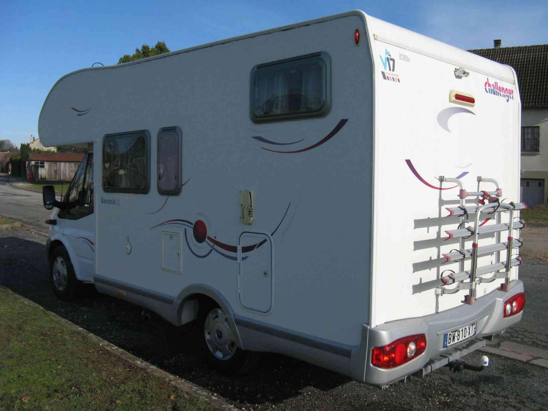 camping-car CHALLENGER GENESIS 31