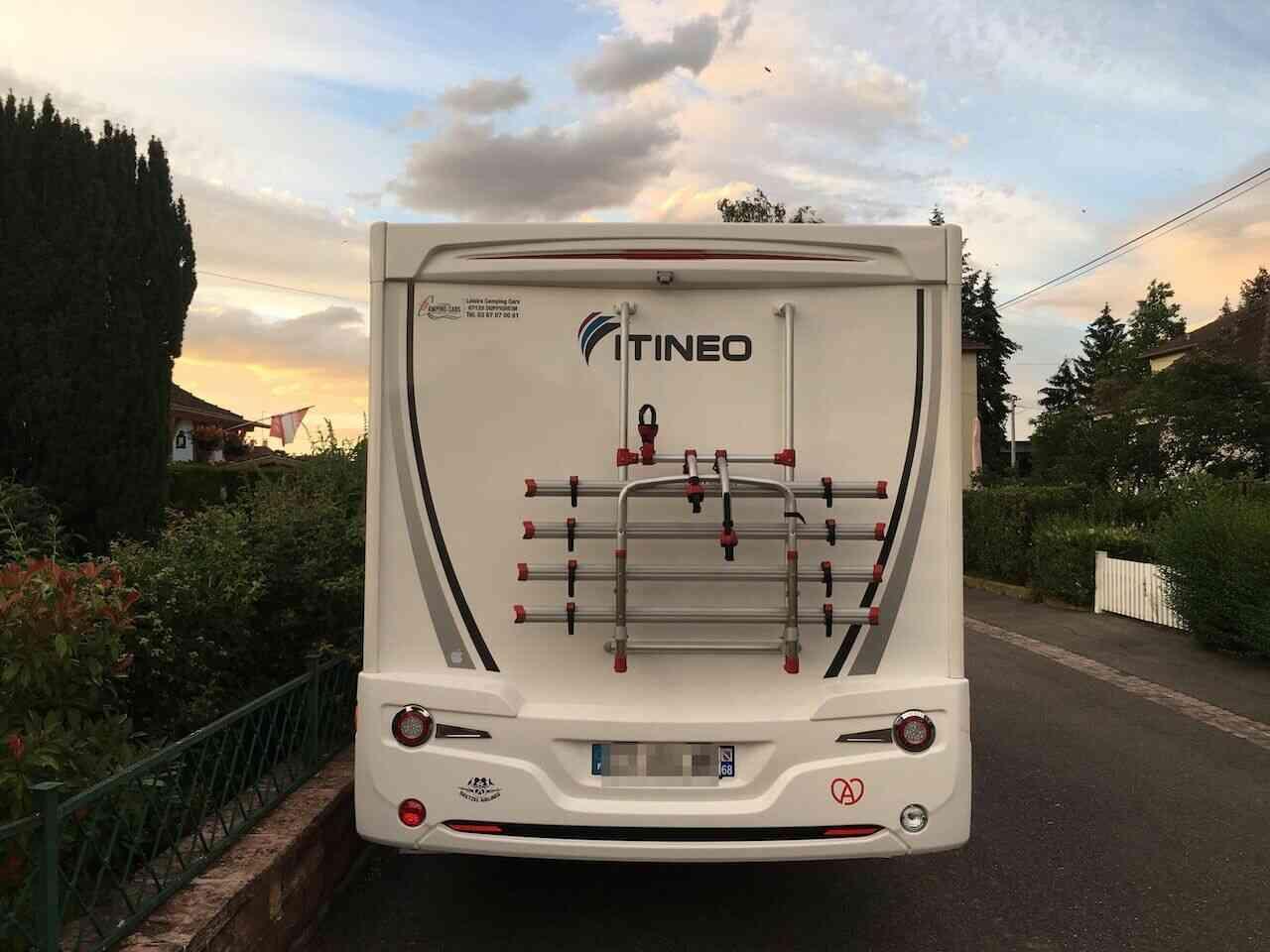 camping-car ITINEO JB 700