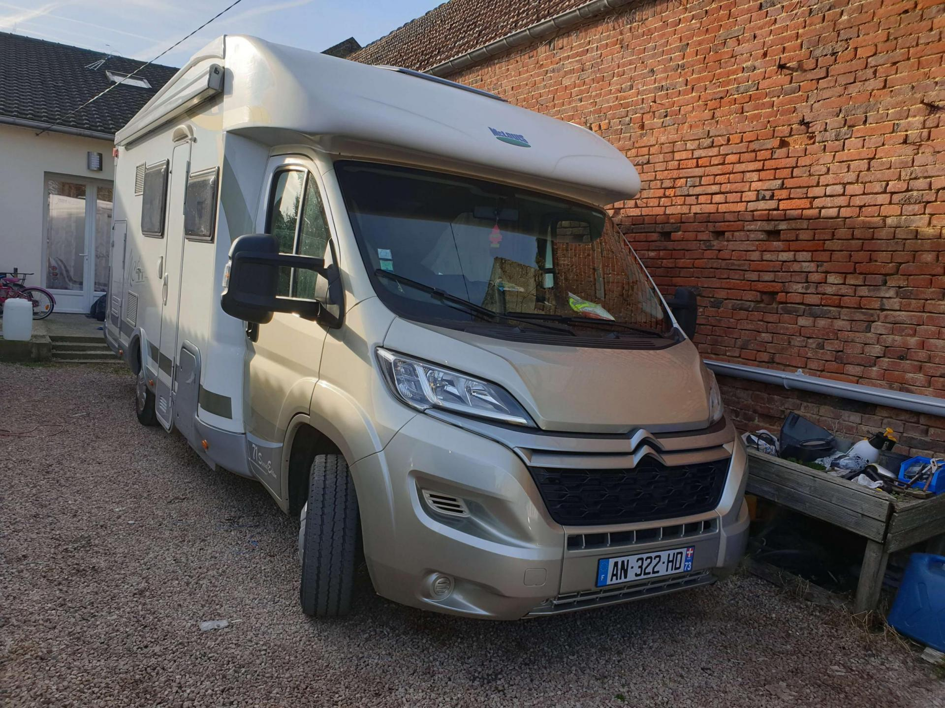 camping-car MC LOUIS MC4 71 Spéciale Edition