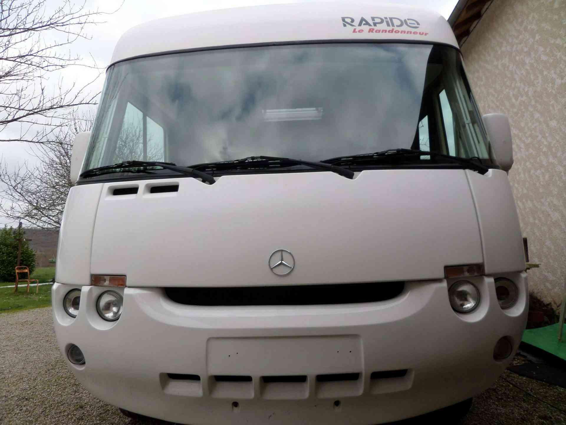 camping-car RAPIDO 970M MERCEDES 316CDI