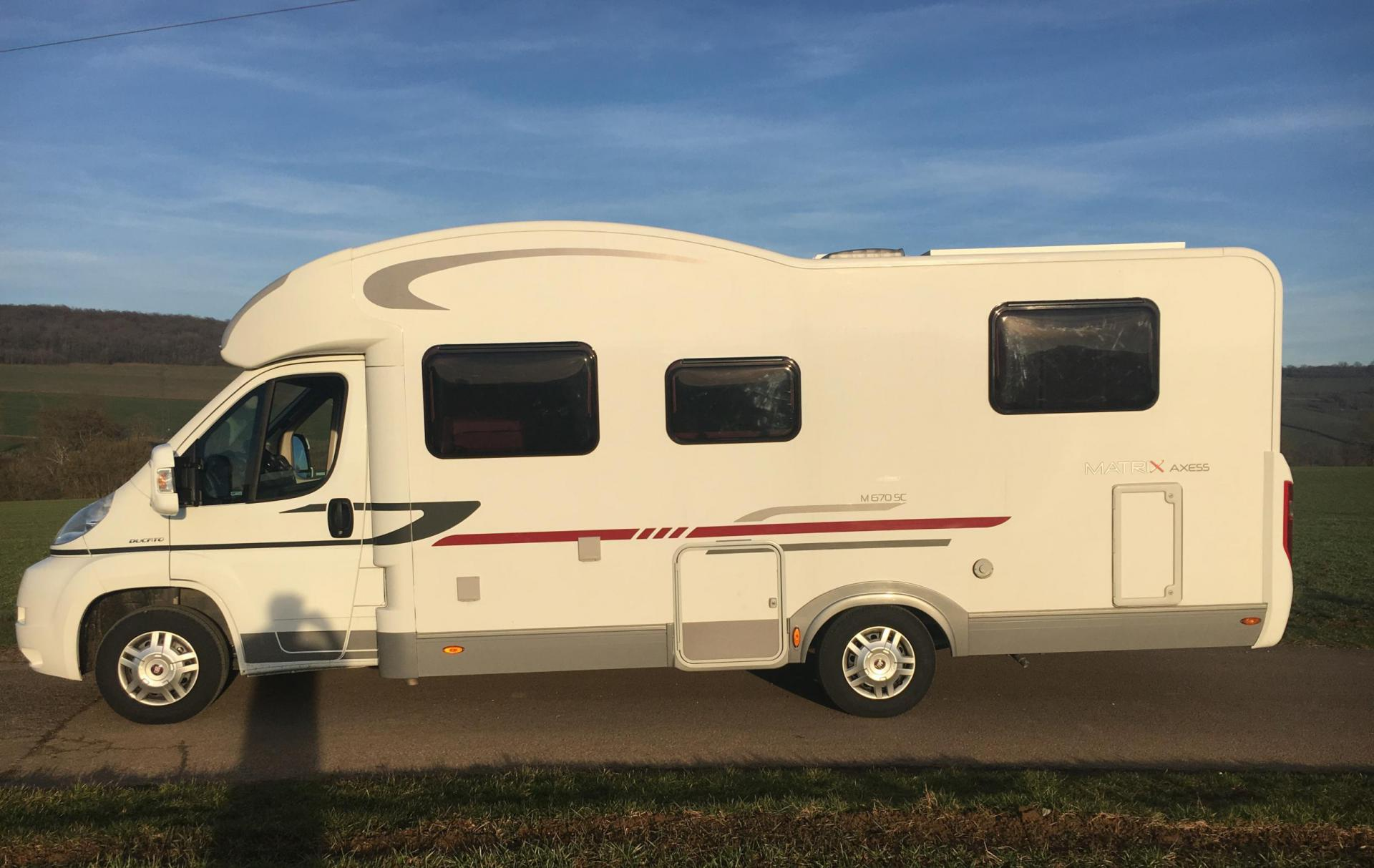 camping-car ADRIA MATRIX AXESS 670 SC