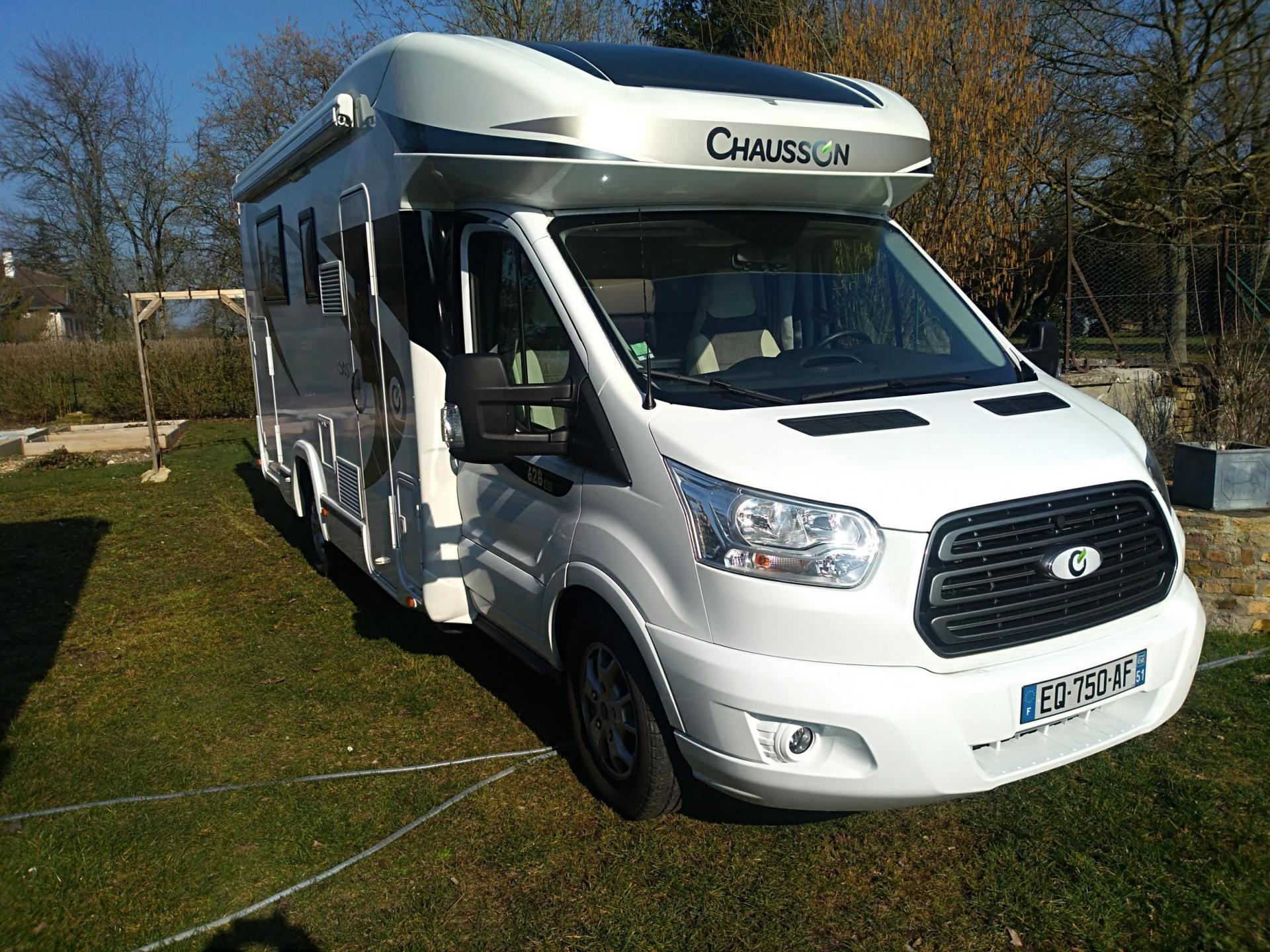 camping-car CHAUSSON KORUS 628 EB