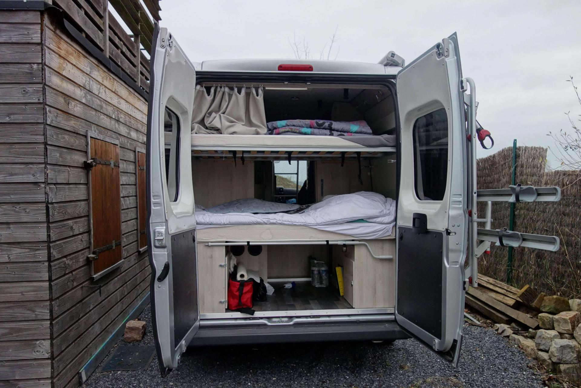 camping-car FONT VENDOME  LEADER VAN DUO