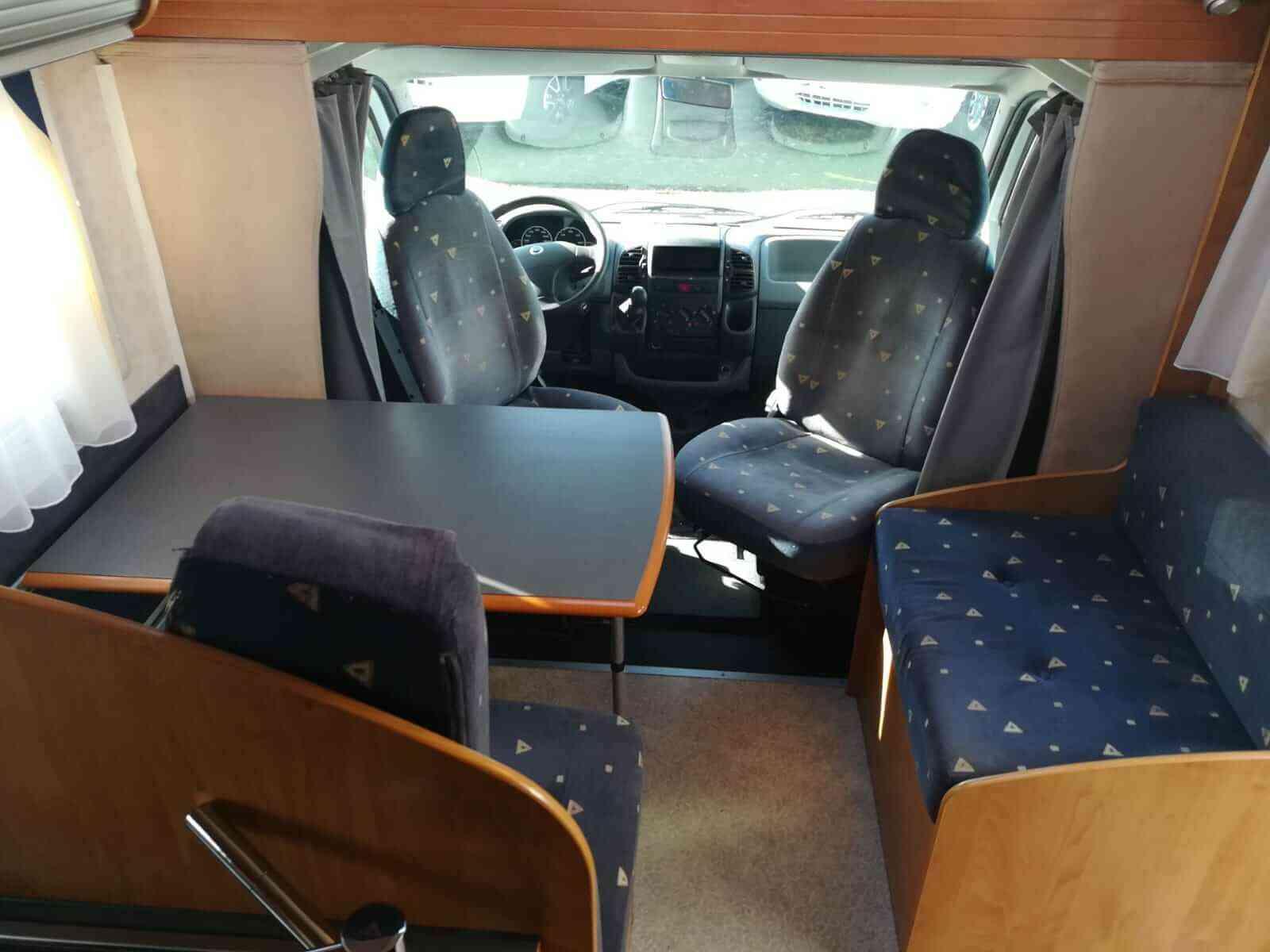 camping-car BAVARIA A 6 ED