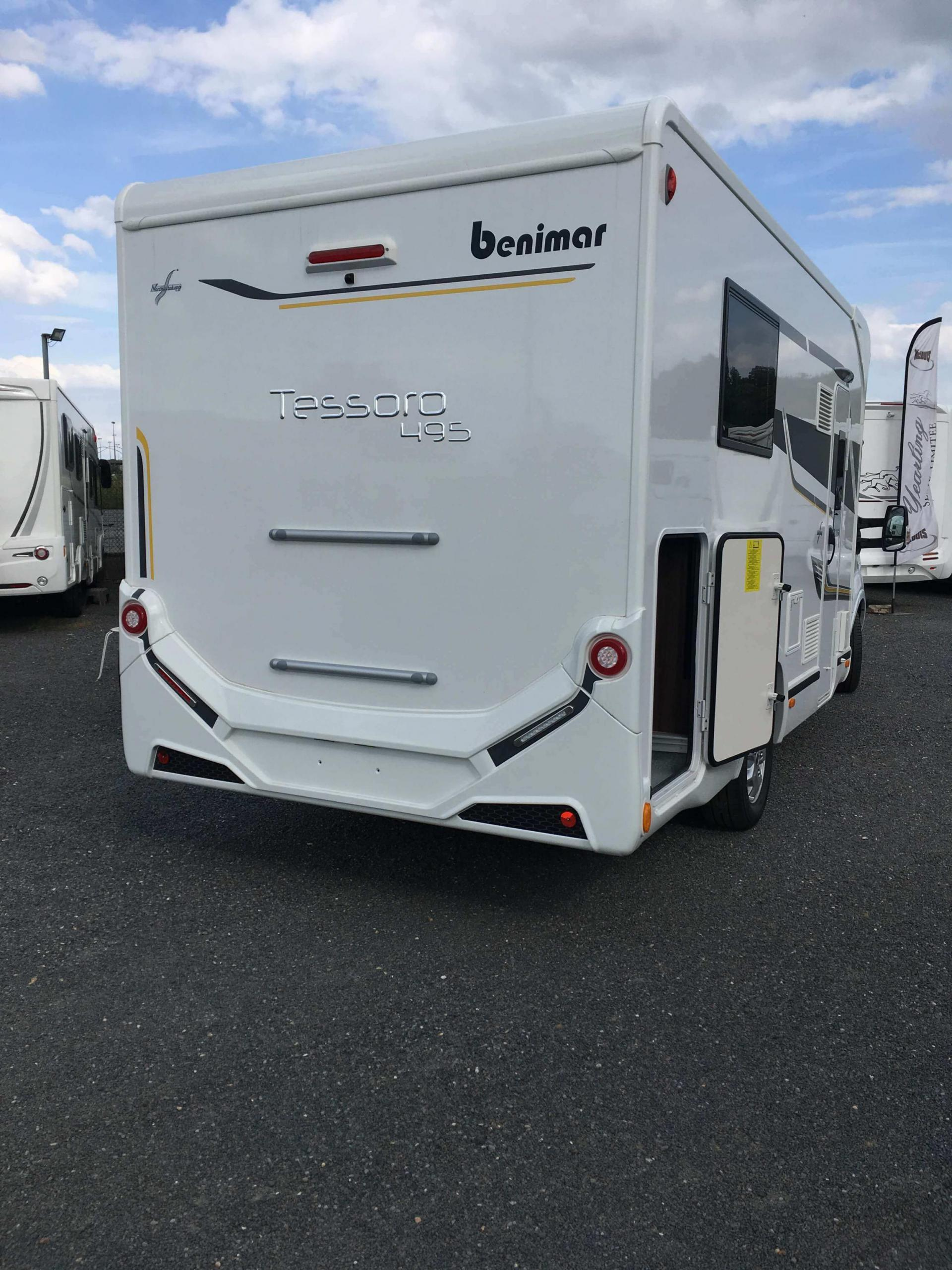 camping-car BENIMAR TESSORO 495
