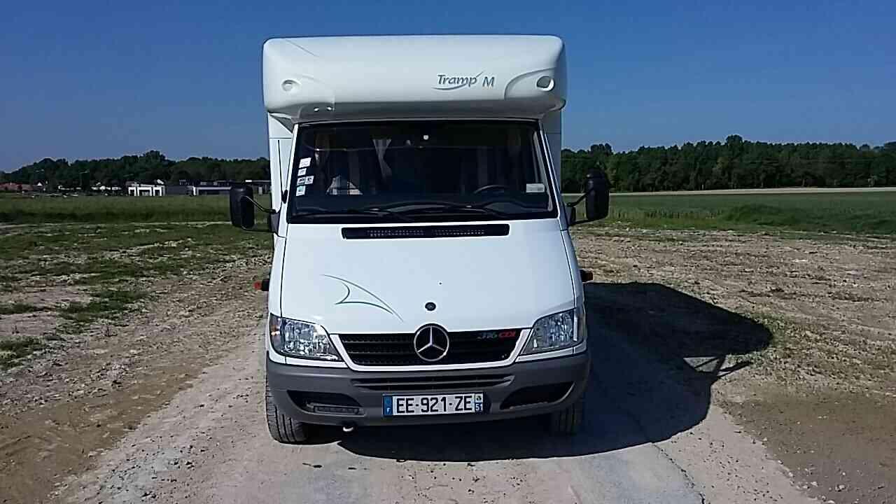 camping-car HYMER TRAMP M