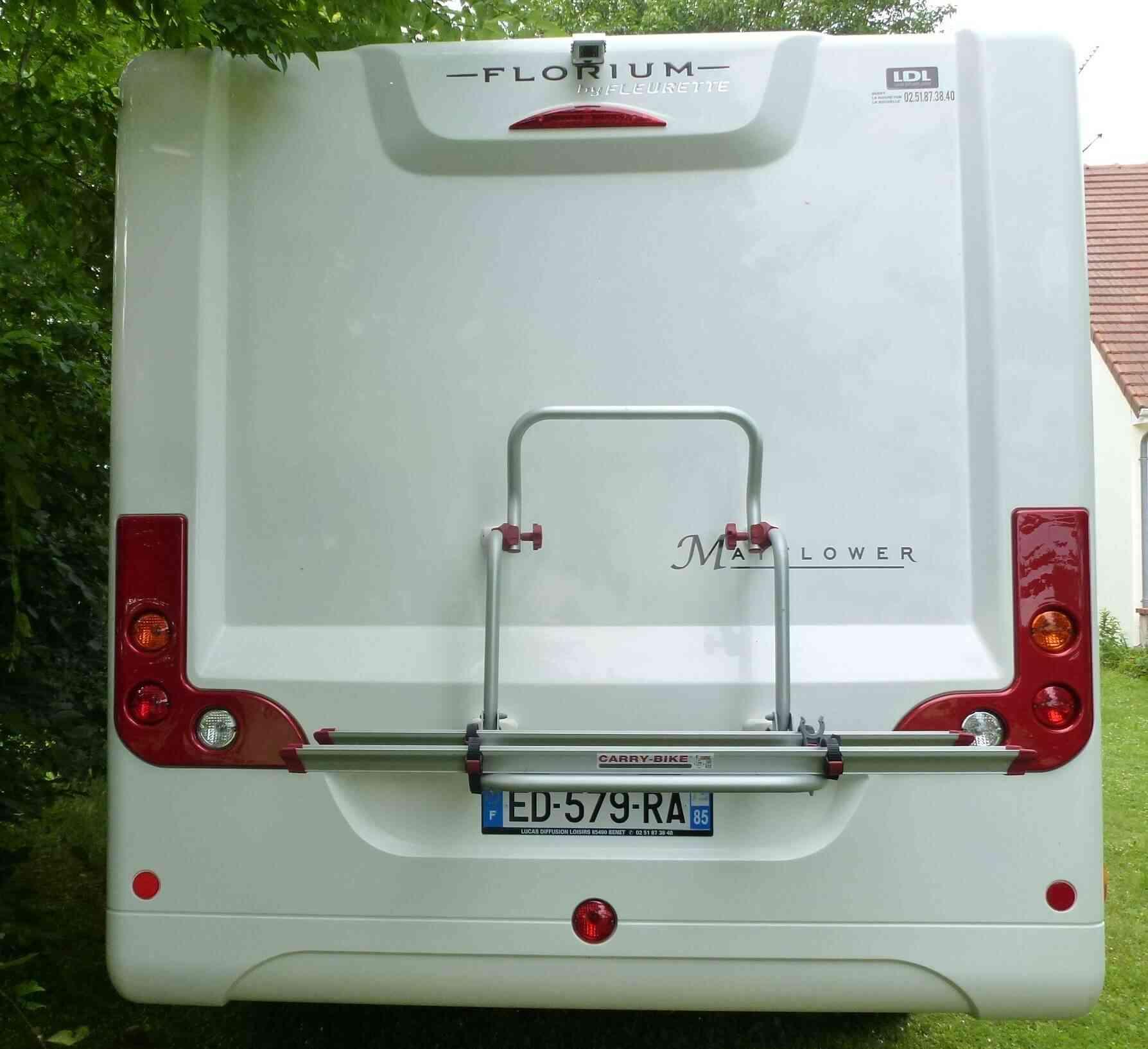 camping-car FLEURETTE FLORIUM MAYFLOWER  LMX65