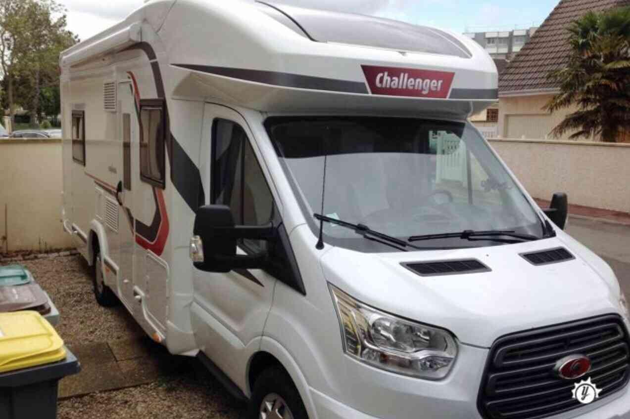 camping-car CHALLENGER GENESIS 396