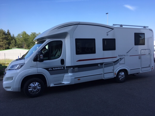 camping-car ADRIA MATRIX PLUS M 670 SBC