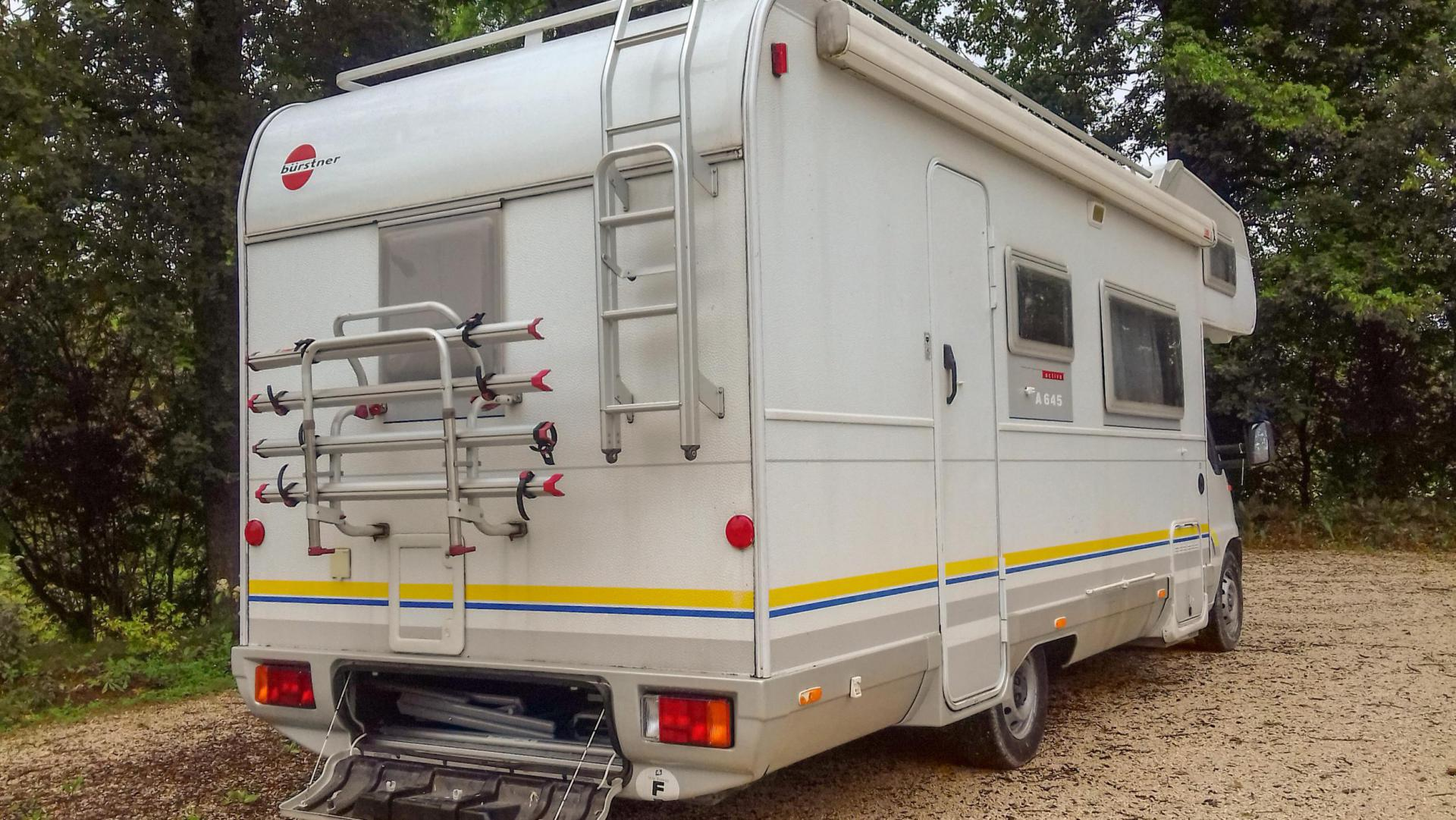 camping-car BURSTNER A 645 ACTIVE