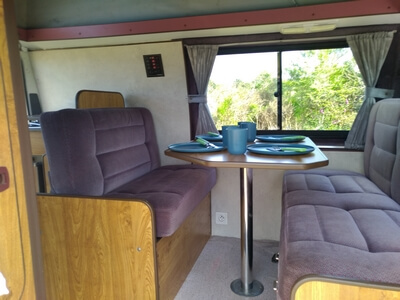 camping-car FORD Campereve