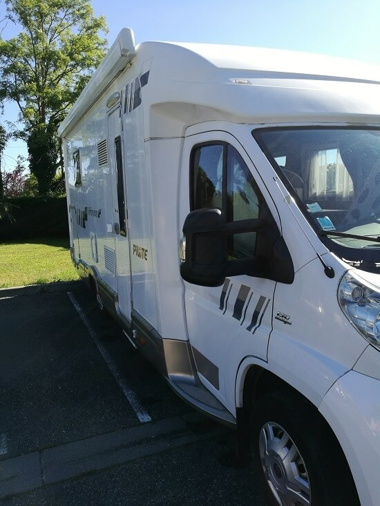 camping-car PILOTE REFERENCE