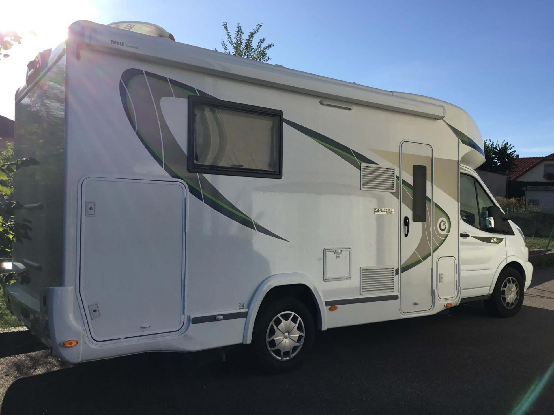camping-car CHAUSSON 628 EB SPECIAL EDITION