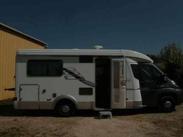 camping-car HYMER TRAMP 598