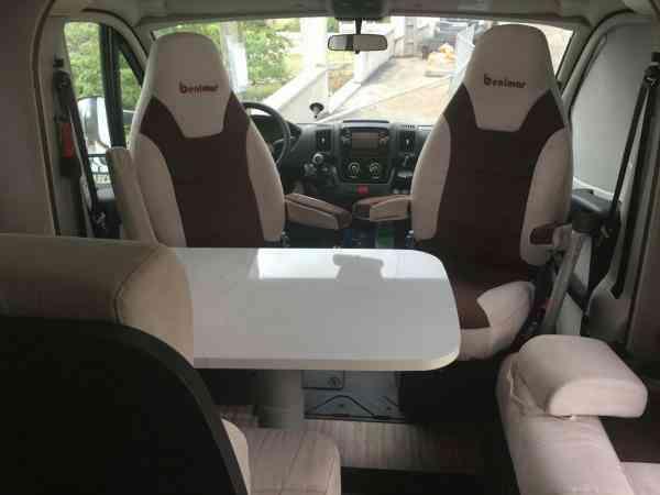 camping-car BENIMAR MILEO 295