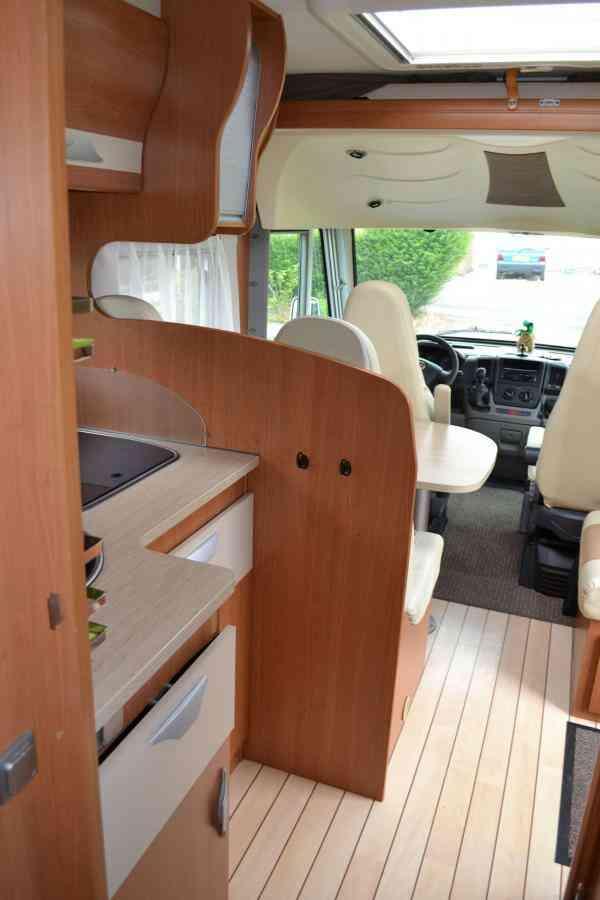 camping-car PILOTE AVENTURA G 740