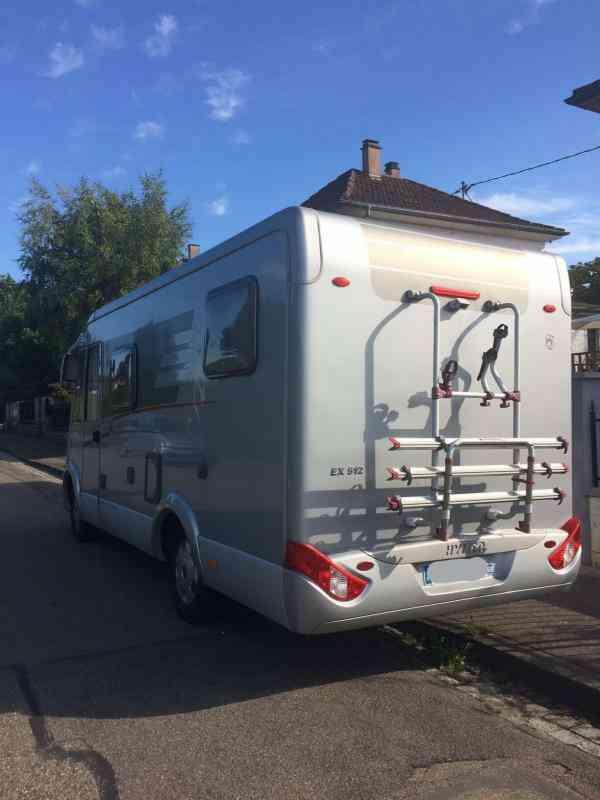 camping-car HYMER EXSIS I 512