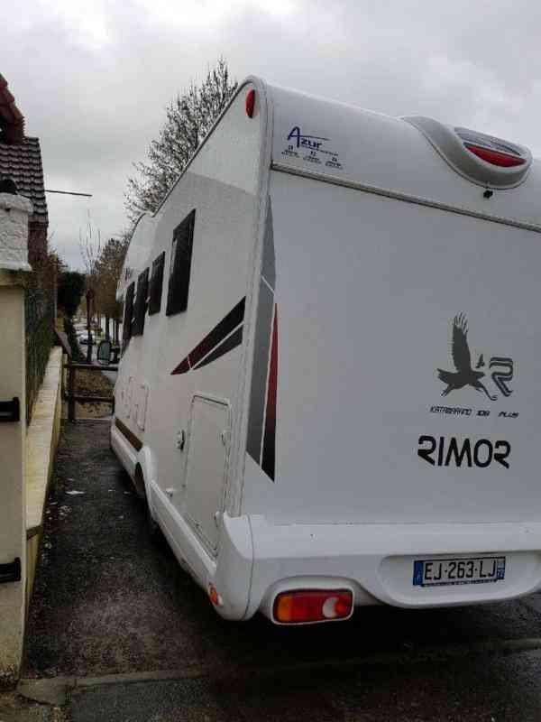 camping-car RIMOR 109 PLUS