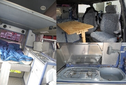 camping-car VOLKSWAGEN T4 CALIFORNIA WESTFALIA