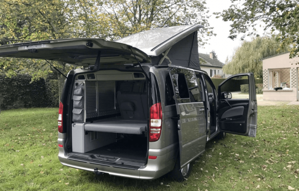 camping-car MERCEDES VIANO MARCO POLO