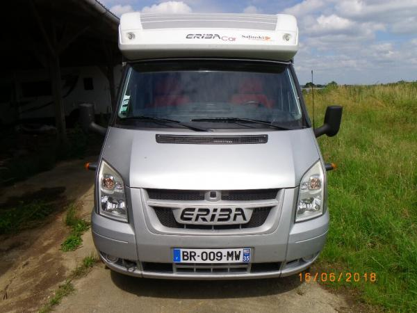 camping-car ERIBA EMOTION 553