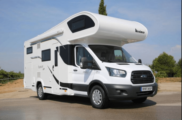 camping-car BENIMARD 340 UP