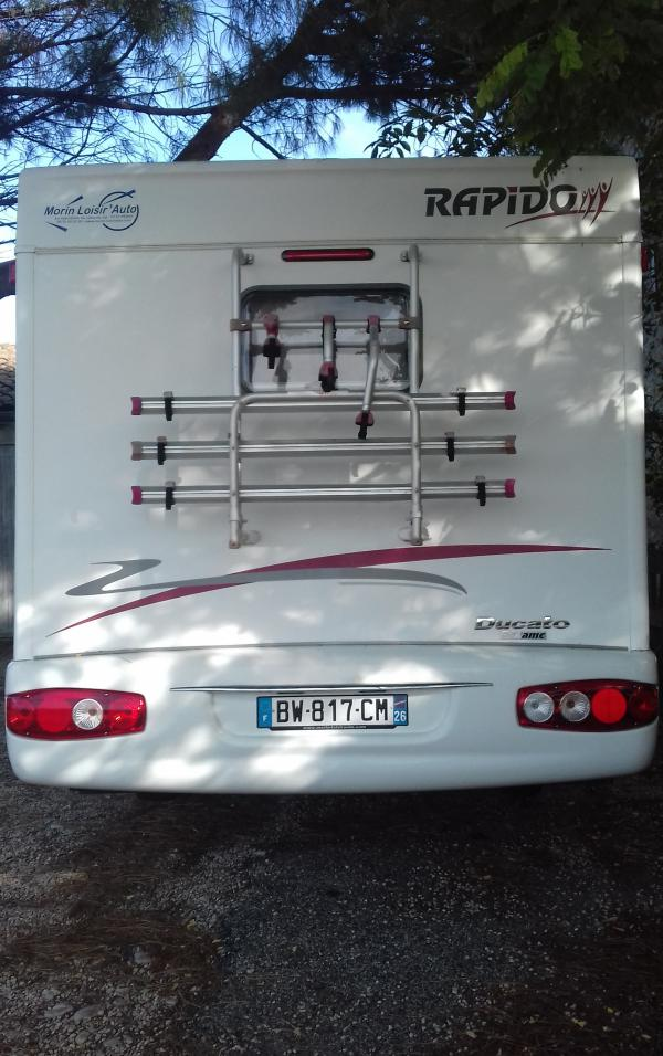 camping-car RAPIDO 963 F