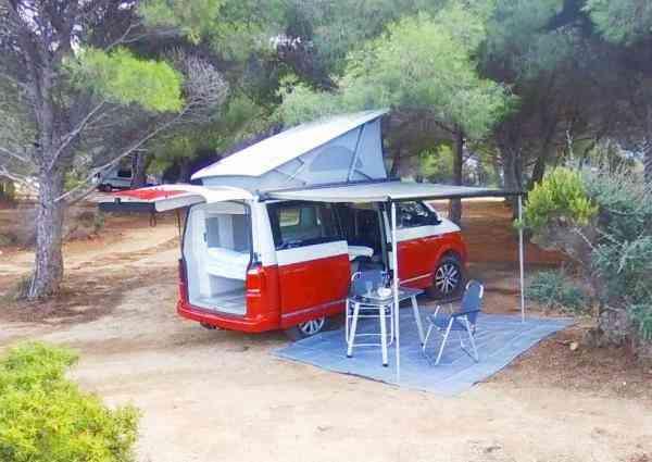 camping-car VOLKSWAGEN T6 CALIFORNIA OCEAN