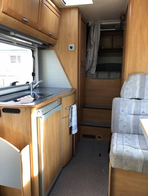 camping-car HYMER B 524