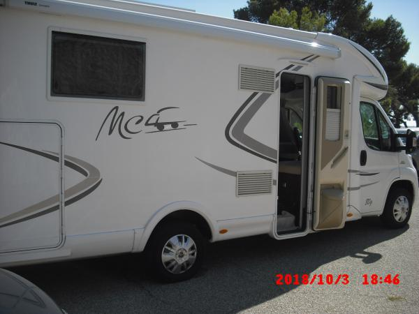 camping-car  MC LOUIS MC4 80G