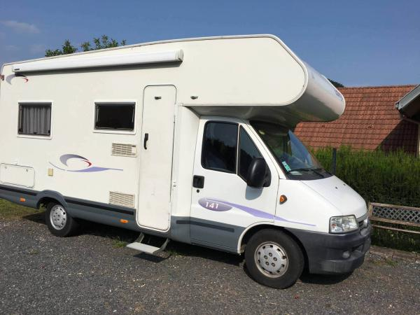 camping-car CHALLENGER 141