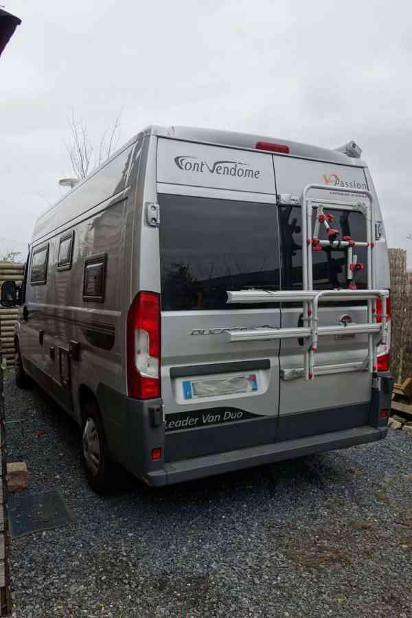 camping-car FONT VENDOME  LEADER VAN DUO