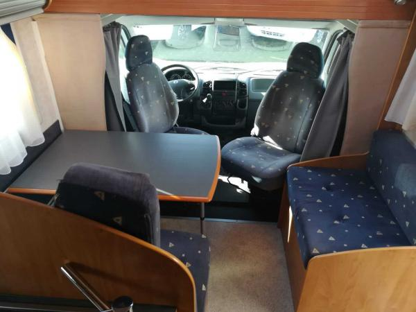camping-car BAVARIA A 6 ED