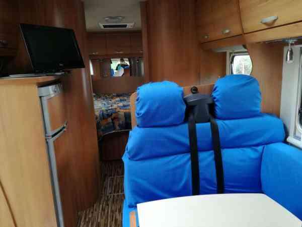 camping-car EURAMOBIL INTEGRA STYLE 710 QB