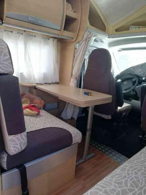 camping-car ROLLER TEAM GRANDUCA 255 P