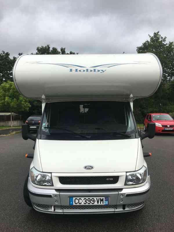 camping-car HOBBY T 550 AKSC